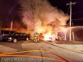 Auto Fire in Westtown Township.