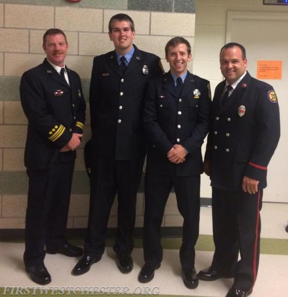 Firefighter Robert Johnson joined the Arlington County, VA Fire Department.