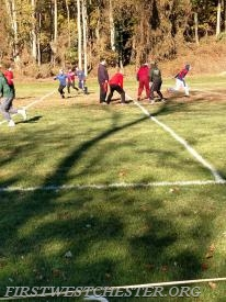 Annual Turkey Bowl.
